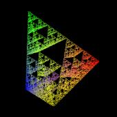 OpenGL ES Sierpinski Gasket