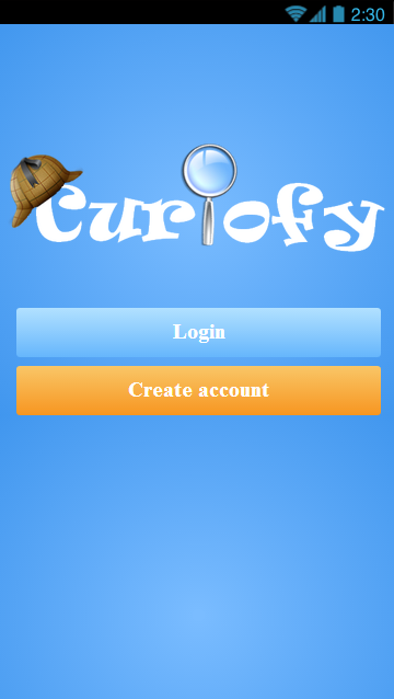 Curiofy - Ask and get answered - screenshot