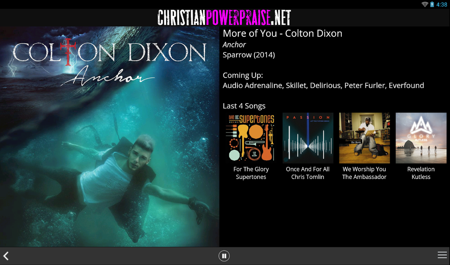 ChristianRock.Net- screenshot