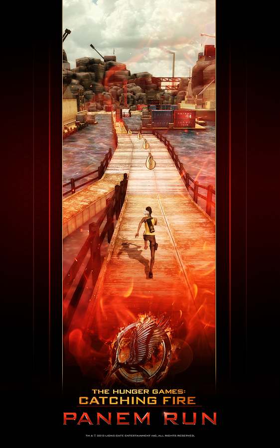 Hunger Games - Panem Run - screenshot