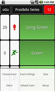oGo Orienteering Start Timer - screenshot thumbnail
