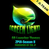 Greenlight golauncher EX theme
