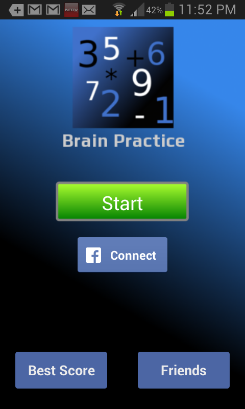 Brain Practice - screenshot
