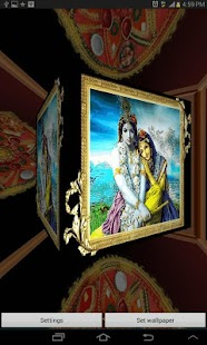 3D Shree Krishna LWP- screenshot thumbnail