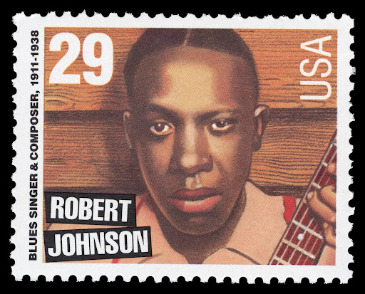 29c Robert Johnson stamp