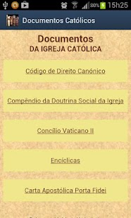 Documentos da Igreja- screenshot thumbnail