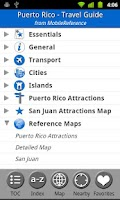 Screenshot of Puerto Rico FREE Travel Guide