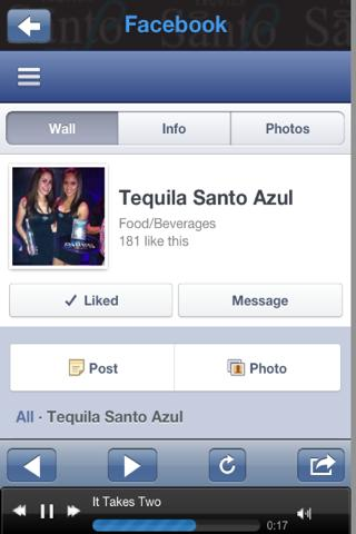 Tequila Santo Azul- screenshot