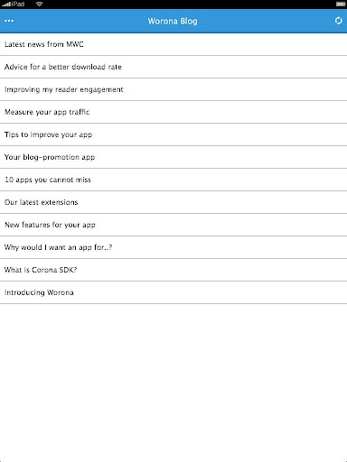 【免費通訊App】Worona Blog-APP點子