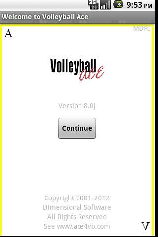 Volleyball Ace Stats- screenshot