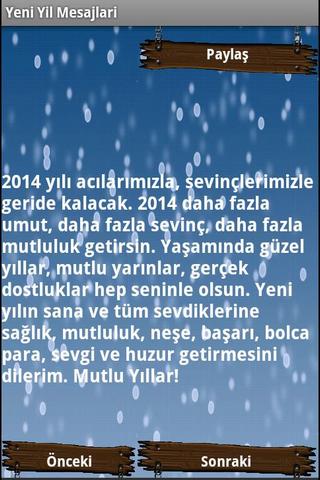 Yeni Yıl Mesajlari