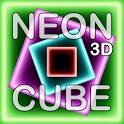 NEON CUBE 3D Live Wallpaper icon