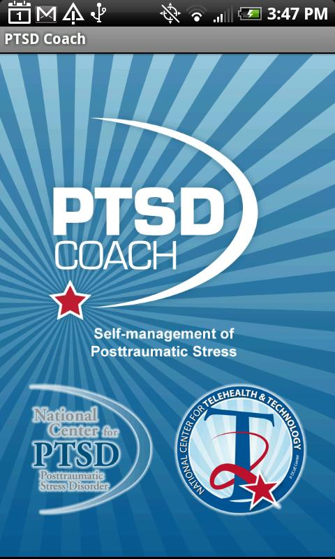 PTSD Coach - screenshot