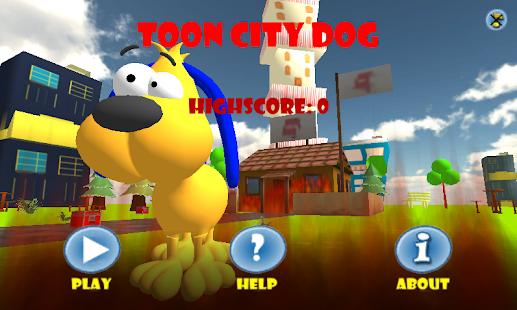 Toon City Dog