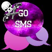GO SMS - Skull Pistol 3