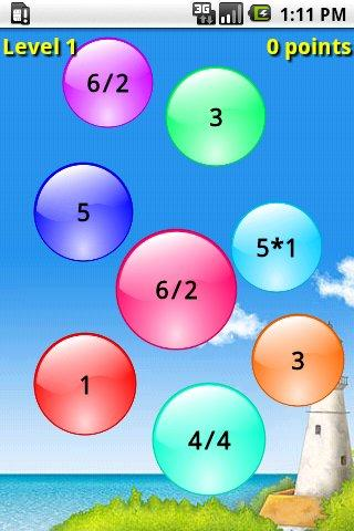 PopMath Lite - screenshot