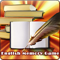 English Memory Game icon