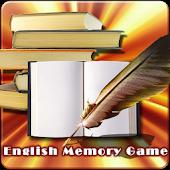 English Memory Game