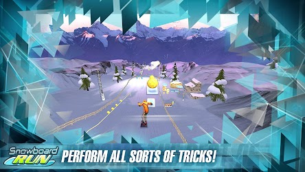 Snowboard Run v1.3 MOD Apk + OBB Data 3