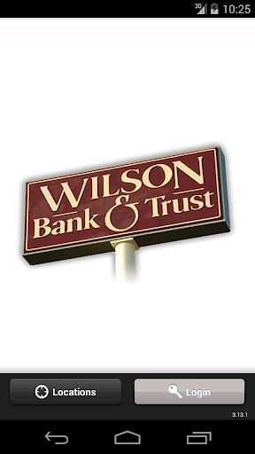 Wilson Bank Trust Mobile App