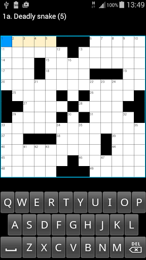 Crosswords US Style : ACE Vol1 2.1 screenshots 2