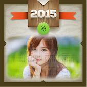 Calendar 2015 Photo Frames