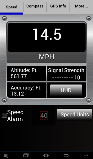 【免費交通運輸App】Accu Speedometer-APP點子