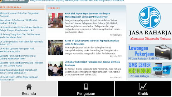 Jasa Raharja - screenshot thumbnail