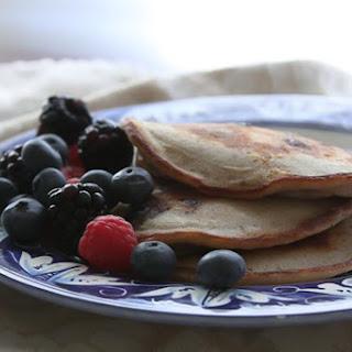 "Bourbon Street ""Bluesberry"" Pancakes Recipe"
