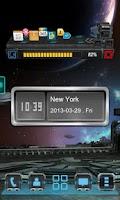 Screenshot of Next Clock Widget