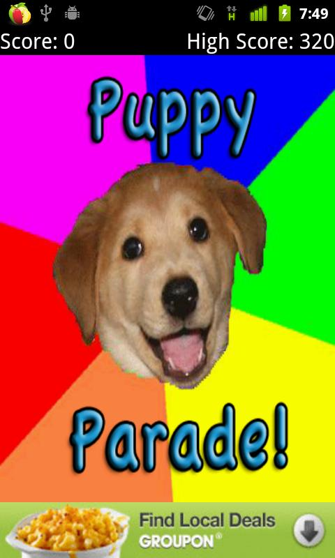 Puppy Parade- screenshot