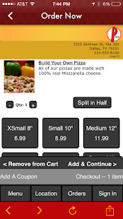 Picassos Pizza & Pasta- screenshot thumbnail
