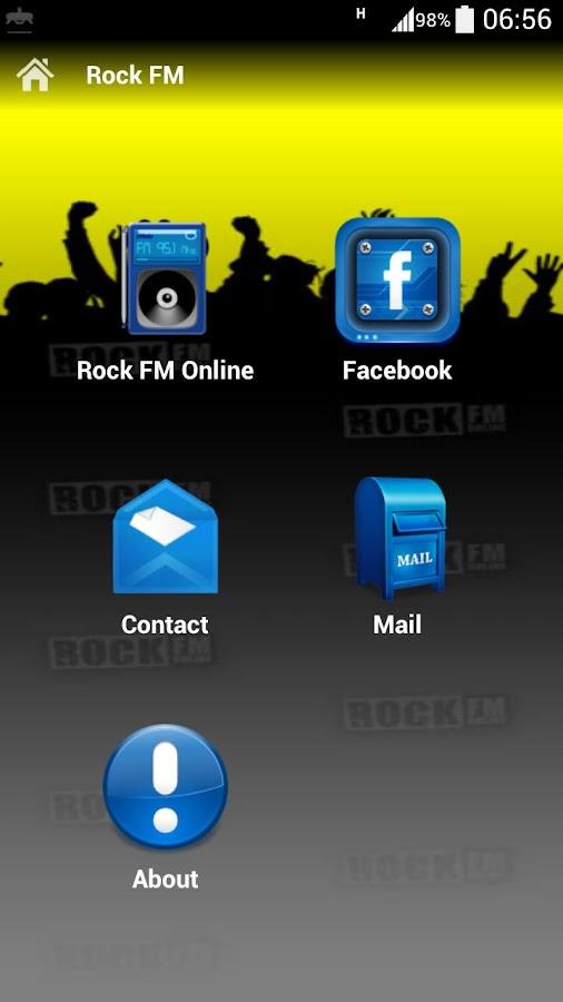 Rock FM- screenshot