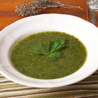 Detox Green Machine Soup.