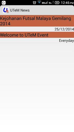 UTeM News