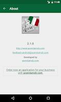 Screenshot of Italia Notizie