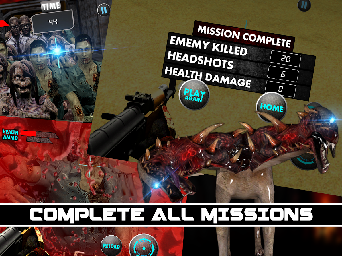 Zombie Killer Shooter Assault - screenshot