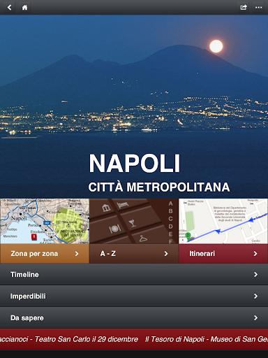 Napoli Pompei Capri City guide