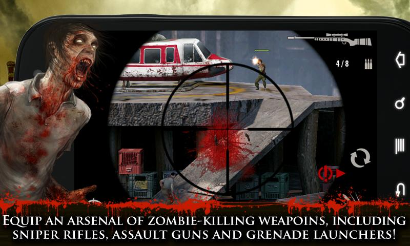 CONTRACT KILLER: ZOMBIES (NR) - screenshot