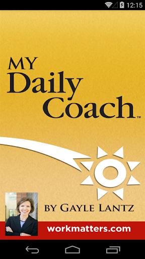 My Daily Coach