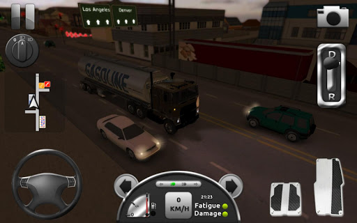 Truck Simulator 3D 2.1 screenshots 24