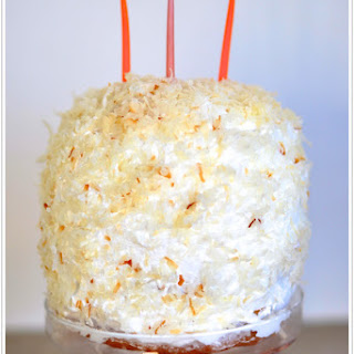 Heavenly Coconut Cake.