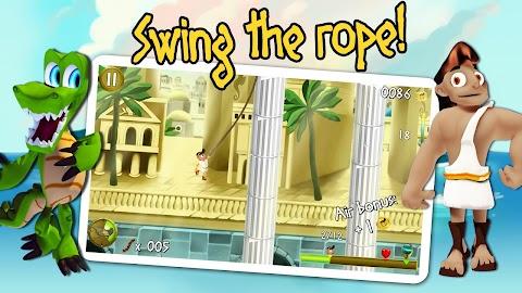Rope Escape Atlantis Screenshot 2