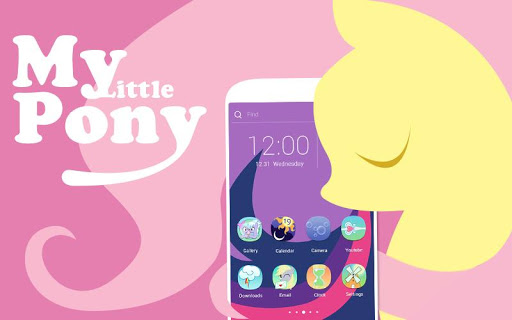 Pink Little Pony Theme