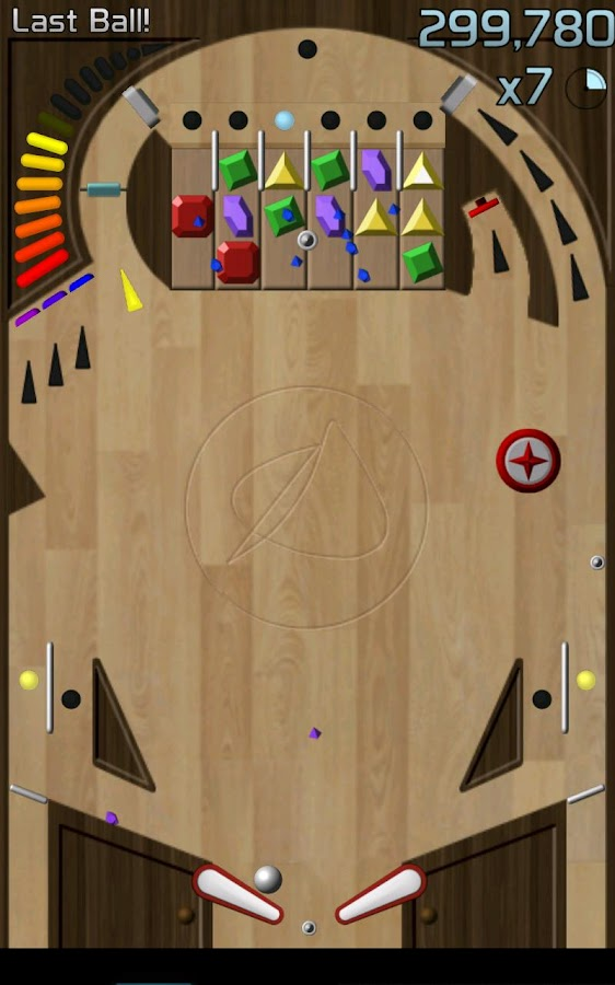 Jewel Bash Pinball- screenshot