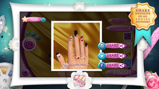 Fashion nails 3d girls game android apps on google play fashion nails 3d girls game screenshot thumbnail prinsesfo Images
