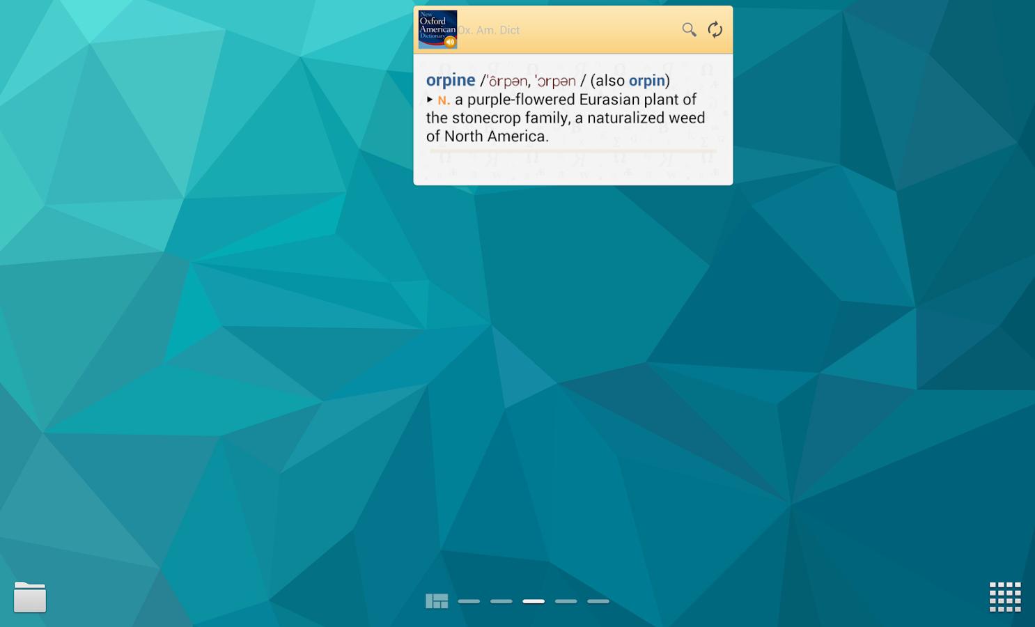 New Oxford American_Dictionary - screenshot