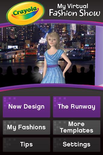 Crayola Virtual Fashion Show