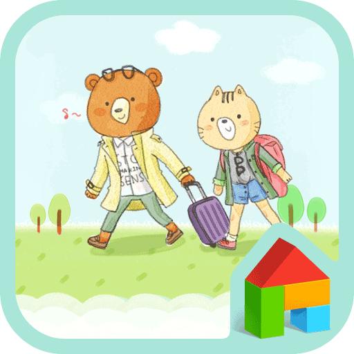 지구별 여행 커플 도돌런처테마 個人化 App LOGO-APP試玩