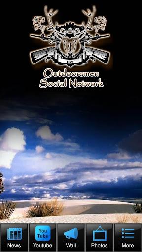 Outdoorsmen Social Network App
